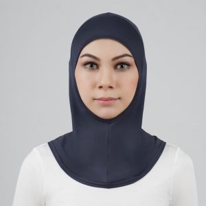 stailoz tudung hijab full grey titan tech