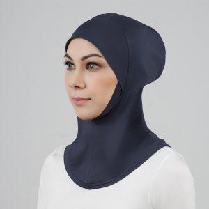 stailoz tudung hijab full grey titan tech