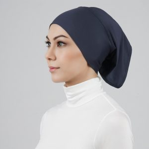 stailoz tudung hijab tube grey titan tech