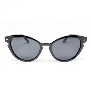 CRUZ Black Medium Unisex Sunglasses