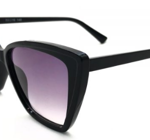 calix black sunglass female