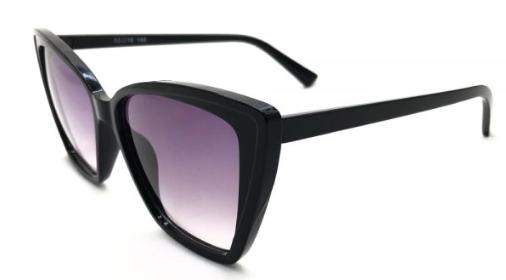 calix black sunglass female