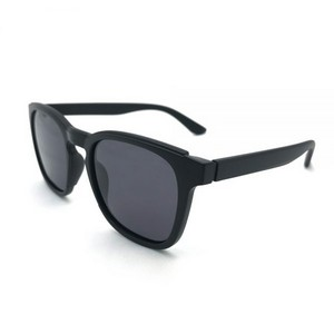 JAIMIE Unisex Black Sunglasses