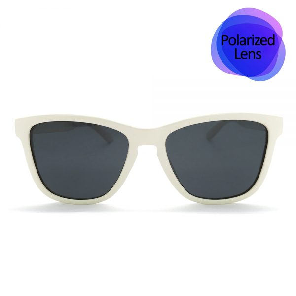 WHITE SUNGLASSES POLARIZED