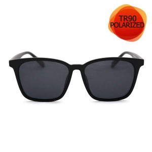 BLACK Unisex Sunglasses