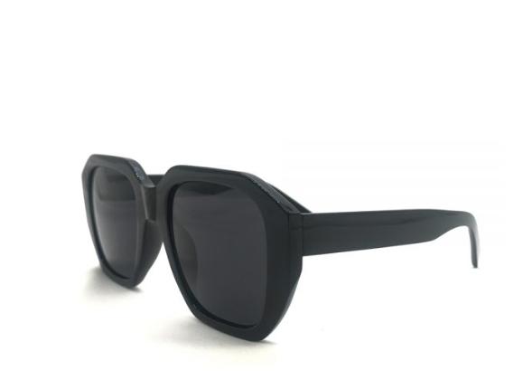 Larger Gunner Sunglass Black