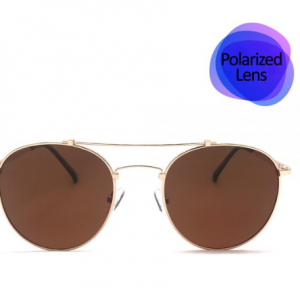 Gold Sunglasses Polarized Lens