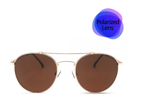 Gold Sunglasses Polarized Lens