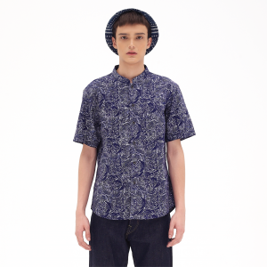 Blossom Oxford Blue Masterpiece Series Kapten Batik