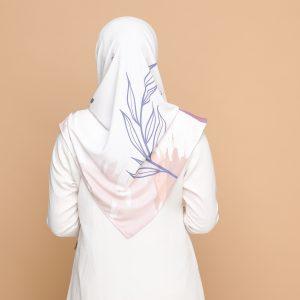 pastel pink basic bawal hijab tudung nyzanourexclusive nyzanour exclusive