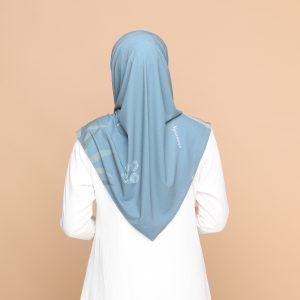green brown basic bawal hijab tudung nyzanourexclusive nyzanour exclusive