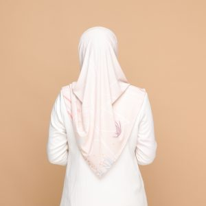 peach basic bawal hijab tudung nyzanourexclusive nyzanour exclusive