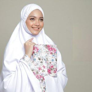 telekung story flora white